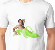 Nicolas Cage In A Banana - Green Unisex T-Shirt