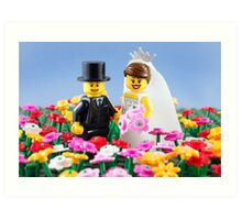 The Happy Couple Art Print