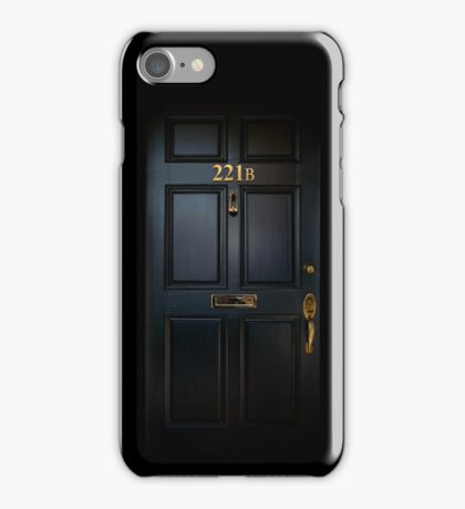 221B Baker St iPhone Case/Skin