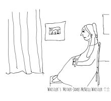 Whistler's Mother - James Abbott McNeill Whistler Photographic Print