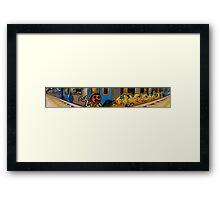 Melbourne Metro Framed Print