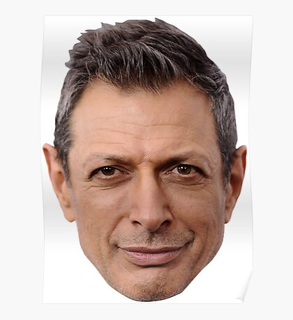 Yet Another Face by Goldblum Poster