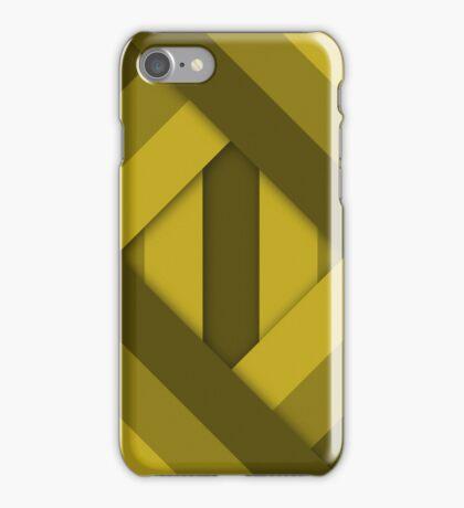Ribbons [Yellow] iPhone Case/Skin