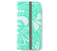 Pop Mint iPhone Wallet/Case/Skin