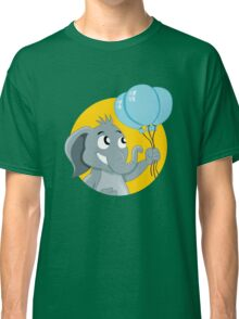 Cute cartoon elephant Classic T-Shirt