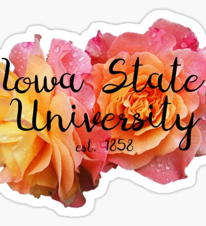 Iowa State University, ISU Sticker