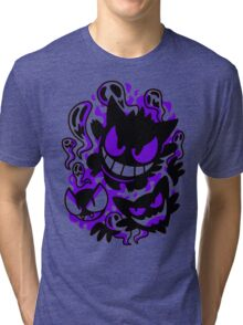 A Ghastly Trio - Pokemon Tri-blend T-Shirt
