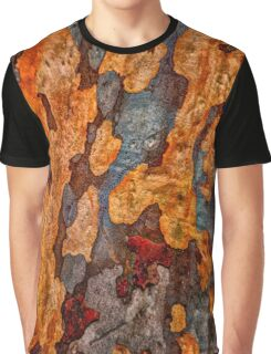 The Tree Bark Collection # 9 Graphic T-Shirt