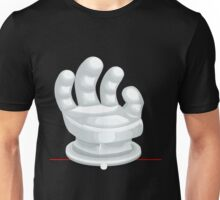 Glitch furniture armchair white hand armchair Unisex T-Shirt