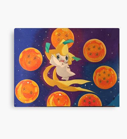 POKEMON X DRAGON BALL  Canvas Print