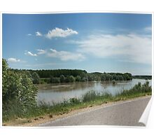 l'OGLIO affluente del PO - italy - europa - mondo-the Oglio River, one of the two largest tributaries of the Po-Italy-Europe- MONDO- VETRINA RB EXPLORA 15 LUGLIO 2013-        Poster
