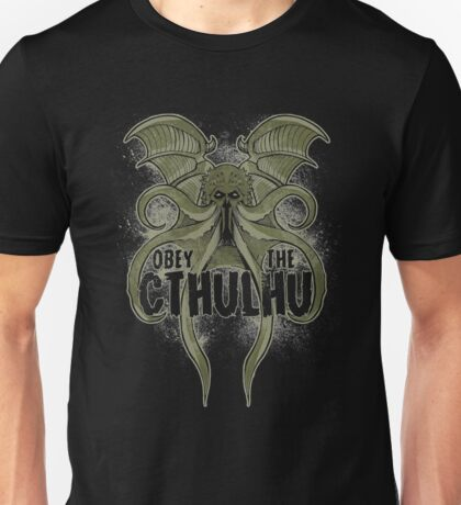 Obey-The-Cthulhu Unisex T-Shirt