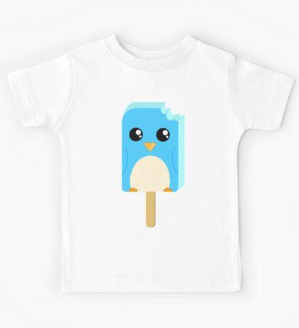 Cute Penguin Popsicle  Kids Tee