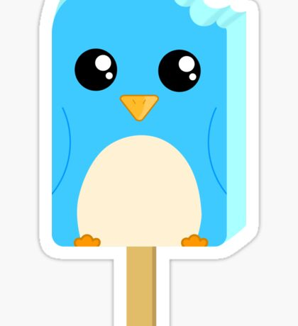 Cute Penguin Popsicle  Sticker