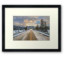 Lead Me To The Light Framed Print