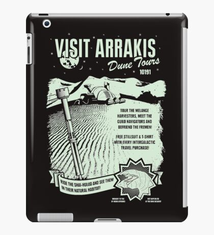 visit arrakis iPad Case/Skin