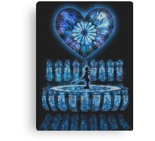 Crystal Heart, Crystal Memories Canvas Print