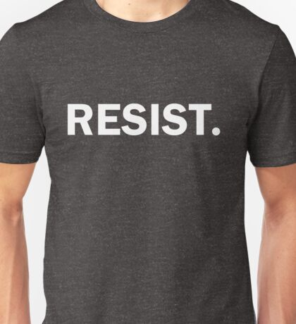 Resist Authoritarianism Trump Resistance Unisex T-Shirt
