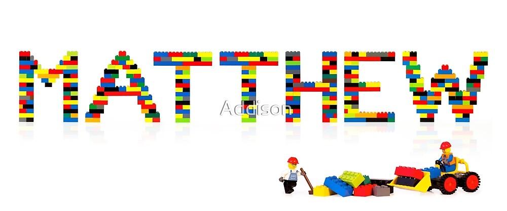 Matthew by Addison