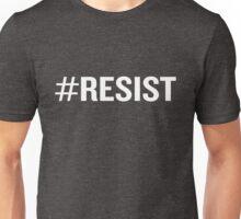 #Resist Hashtag Anti Trump Revolution Resistance Unisex T-Shirt