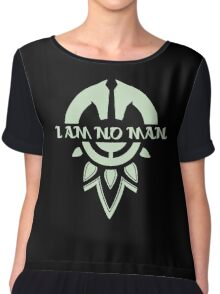 i am no man Chiffon Top