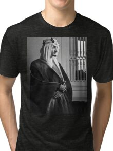 Faisal of Saudi Arabia Tri-blend T-Shirt