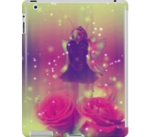 Fairy with Roses 2 iPad Case/Skin