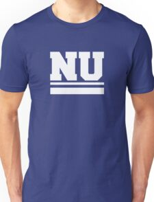 NU in white Unisex T-Shirt
