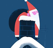 CHRISTMAS CARD NO.3 - CHIMNEY by onkelbob