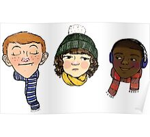 Snow Kids Poster