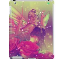 Fairy with Roses 3 iPad Case/Skin