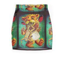 Queen of Wands + Hanged Man Mini Skirt