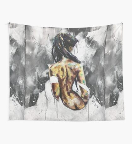 Undressed VI  Wall Tapestry