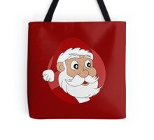 Santa Claus cartoon Tote Bag