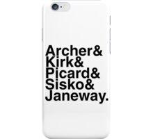 Star Trek Captains iPhone Case/Skin