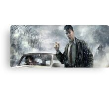 Сomic hero Canvas Print