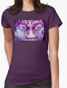 Fantasy style Womens Fitted T-Shirt