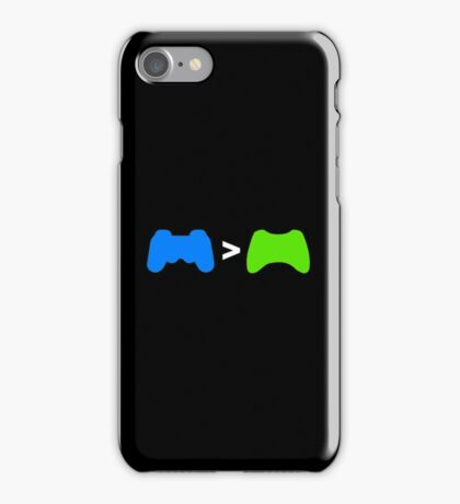 PlayStation Greater Than Xbox iPhone Case/Skin