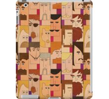 Men with beards iPad Case/Skin