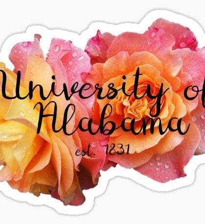 University of Alabama Rose Sticker