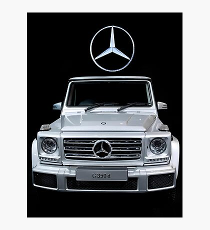 Mercedes G350D Photographic Print