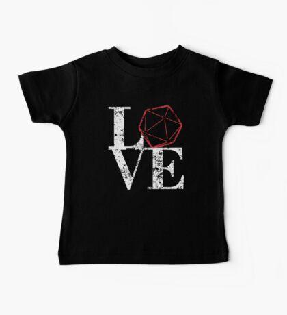 LOVE - D20 Baby Tee