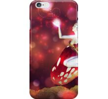Magic mushroom fairy iPhone Case/Skin