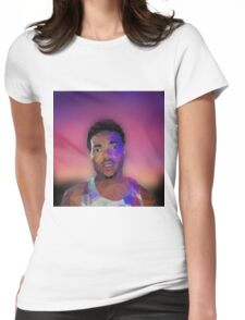 Acid Rap Geometric Womens Fitted T-Shirt