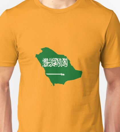 Saudi Arabia Pride Unisex T-Shirt