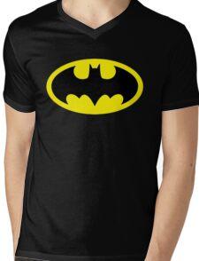Batman Mens V-Neck T-Shirt