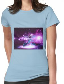 Space fairy 2 Womens Fitted T-Shirt