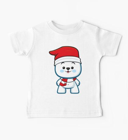 Polar Bear Boy - Christmas Kawaii Baby Tee