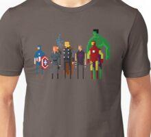 8-bit Marvelous Avenging Heroes Movie Unisex T-Shirt