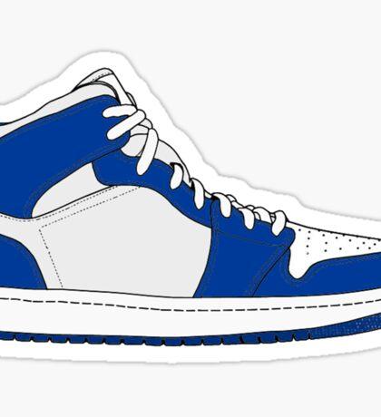 "Air Jordan I (1) ""Storm Blue"" Sticker"